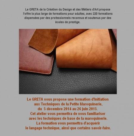 Le travail du Cuir - Ameublement,Maroquinerie......