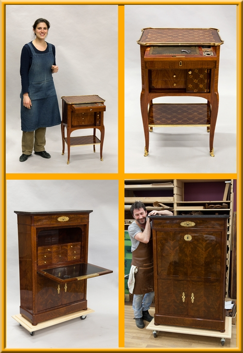 Restauration de meubles 2 formateurs meilleurs ouvriers - Formation restauration de meubles ...