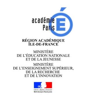 Logo académie IDF 2018