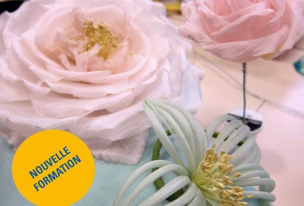 Atelier fleurs artificielles