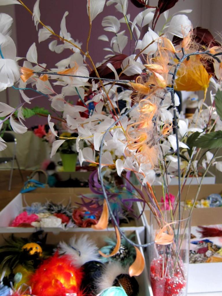 Fleurs & plumes