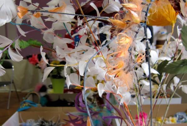 Fleurs et plumes