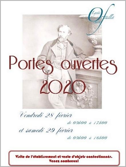 JPO 2020 lycée Octave Feuillet