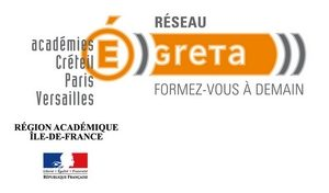 logo des GRETA région Île de France