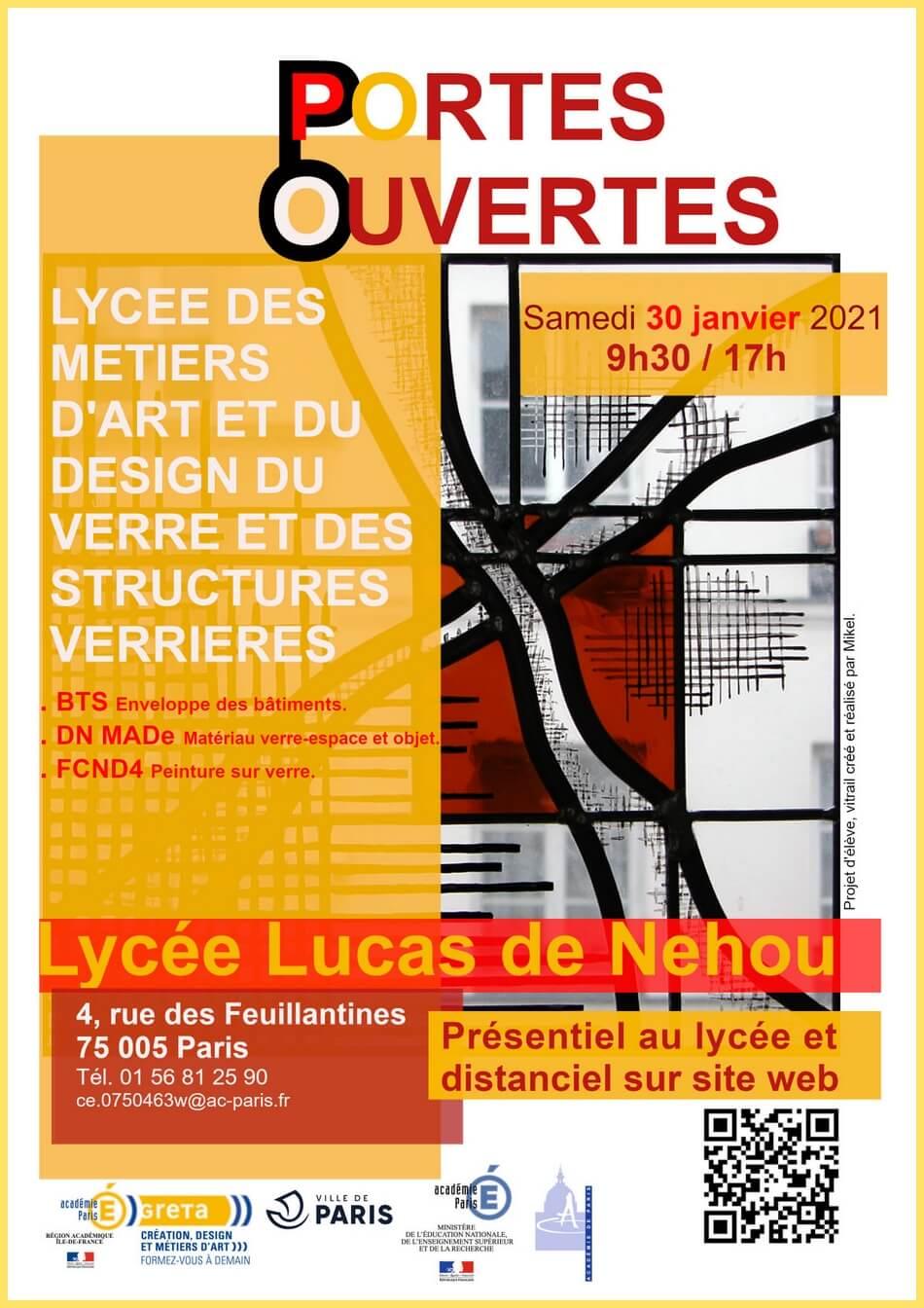 Lycée Lucas de Nehou JPO 2021