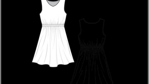 dessin technique de mode