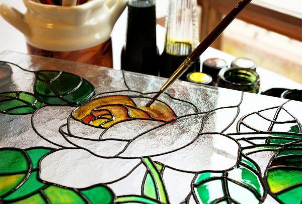 décorateur sur verre