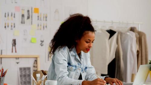le métier de designer textile